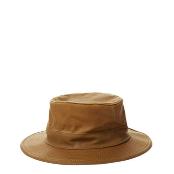 Filson Men's Original Tin Cloth Hat - Cream/Tan -