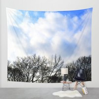 winter Wall Tapestry by Haroulita!! | Society6