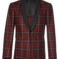Jacket Red Check Tuxedo C714 | Suitsupply Online Store