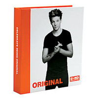 One Direction Limited Edition 1D OD Together Round Ring Binder Louis Original Orange by Office Depot