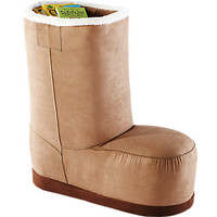 Ugg Style Brown Boot Chair Large