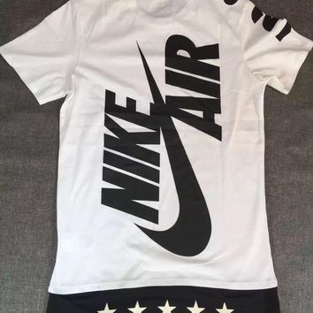 Nike hit color logo printed sports casual T-shirt men and women
