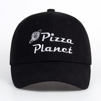 """pizza planet"" dad hat"