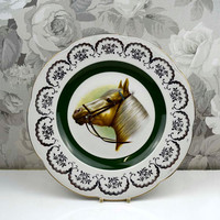 Vintage Ascot Service Plate Wood And Sons England Alpine White Ironstone