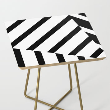 Abstract Striped Triangles by Bitart