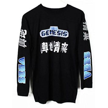 Sega Genesis Japanese Long Sleeve T-Shirt