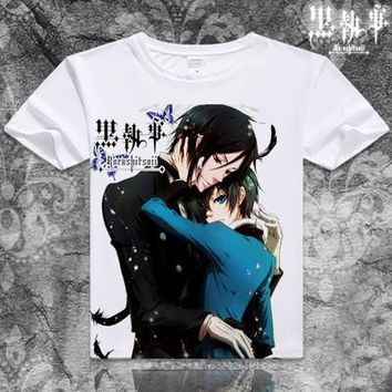 Black Butler Short Sleeve Anime T-Shirt V18