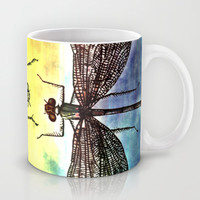 DRAGONFLY meets a Friend Mug by Pia Schneider [atelier COLOUR-VISION]