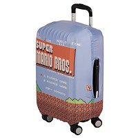 Super Mario Brothers Luggage Cover Mario Brothers
