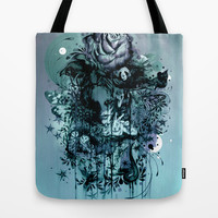 Doom and Bloom Tote Bag by Mat Miller