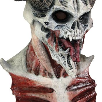 Devil Skull Horror scary Graveyard Mask