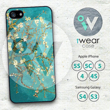 Van Gogh Flower iPhone 5 Case, iPhone 5/5s/5c Case, Oil Painting iPhone 5 Hard Cases Rubber Case,Cover Skin iPhone Case