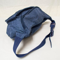 Free Ship Large Blue Fanny Pack Everest Nylon Hip Bag