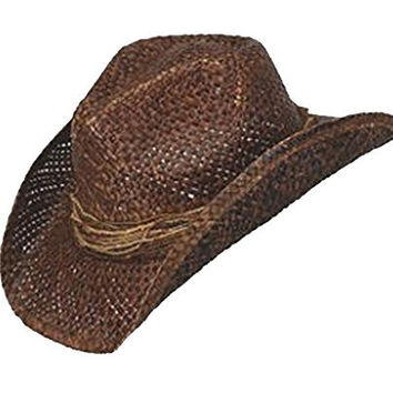 Peter Grimm's Zuni Cowboy Hat, Brown