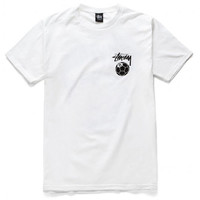 Stussy: 8 Soccer Ball Shirt - White