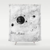 Solis Mundo II Shower Curtain by HappyMelvin
