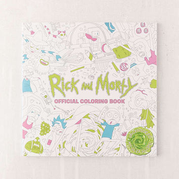 Rick and Morty Official Coloring Book | Urban Outfitters