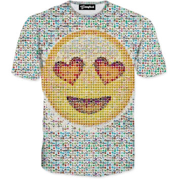 Emoji Collage Tee