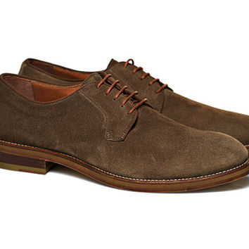 Brown Suede Derby Fw141221 | Suitsupply Online Store