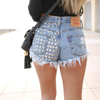 Dangers Studded Vintage Levis Shorts