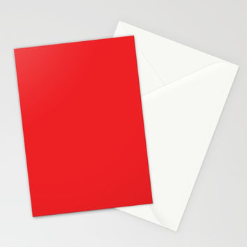 Youtube Red Stationery Cards by spaceandlines