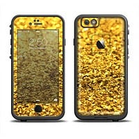 The Gold Glimmer Apple iPhone 6 LifeProof Fre Case Skin Set
