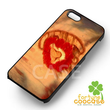 Disney Simba Drawing The Lion King -5arw for iPhone 6S case, iPhone 5s case, iPhone 6 case, iPhone 4S, Samsung S6 Edge