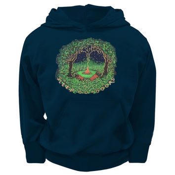 Little Hippie - Sleep Outdoors Youth Hoodie