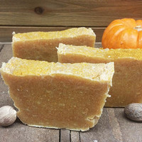 Turmeric Pumpkin Facial Bar - great for acne-prone skin!
