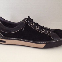 Cole Haan Nike Air Shoes Womens Size 6.5 M Black Sneakers G Series Lace Up 6 1/2
