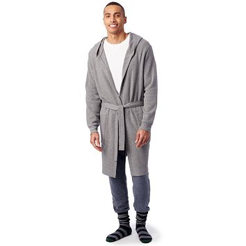 Alternative Apparel - Rocky Fleece Boxing Robe Eco Grey Boxing Robe