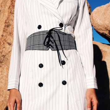 Florenze Pinstripe Dress