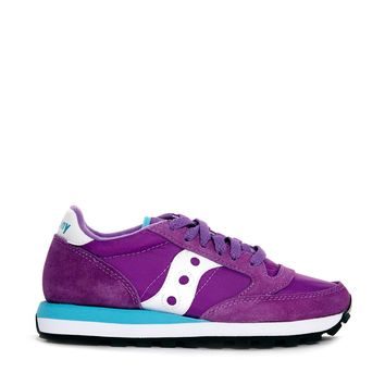 Saucony Jazz Original Purple/White Trainers