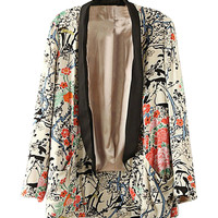 Fall Fashion Floral Blazer