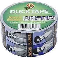 Justin Bieber DuckTape Duct Tape