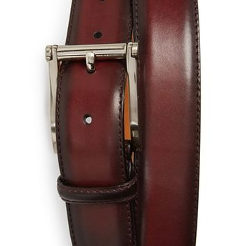 Men's Magnanni 'Wells' Leather Belt