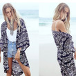 Loose Print Beach Cover Up