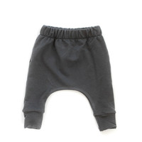 Bamboo Slim Harems in Dark Gray