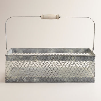 Rectangular Francine Wire Basket - World Market