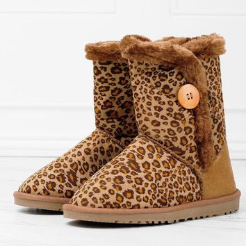 Temptation Boots - Cheetah