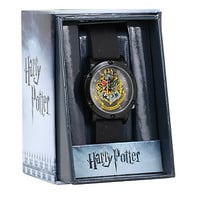 Harry Potter Hogwarts Crest Rubber Strap Watch