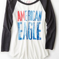 AEO Women's Baseball T-shirt