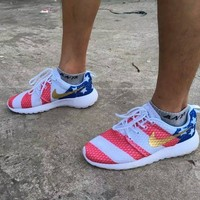 Nike roshe run American Flag Men&Women Running Shoes
