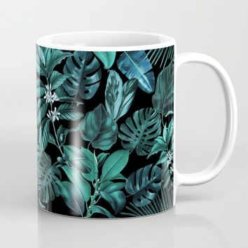 Tropical Garden Coffee Mug by burcukorkmazyurek