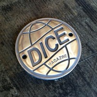 Dice Magazine Dice Globe Aluminium HD Big Twin Points Cover: POLISHED Garage Motorcycle Parts Points Covers at Broken Cherry
