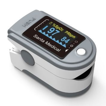 Santamedical Generation 2 SM-165 Fingertip Pulse Oximeter Oximetry Blood Oxygen Saturation Monitor | Overstock.com Shopping - The Best Deals on Respiratory Supplies