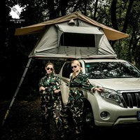 New Design Self-driving Travelling 4x4 Off-road Anti - UV Waterproof Roof Top Tent for Camping and Hiking