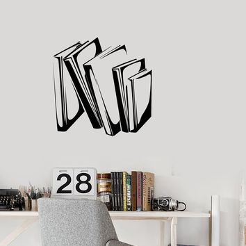 Vinyl Decal Wall Sticker Home Decor Books Knowledge Office Unique Gift (g044)