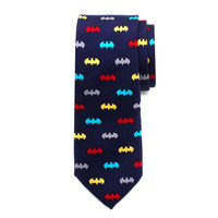 Batman Multi-Color Bat Boys Tie