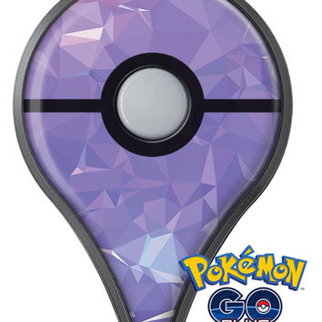 Light Purple Geometric V13 Pokémon GO Plus Vinyl Protective Decal Skin Kit